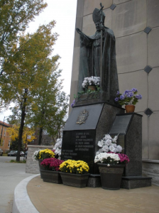 Pope John Paul II Memorial Garden